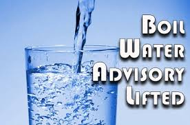 Boil Water Advisory Lifted graphic
