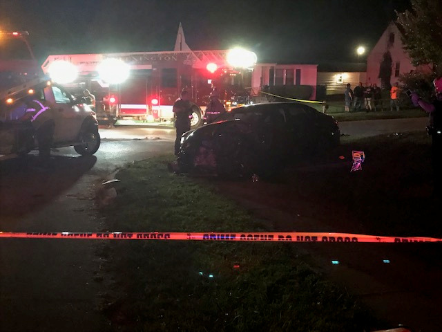 Lexington Officer involved DUI crash