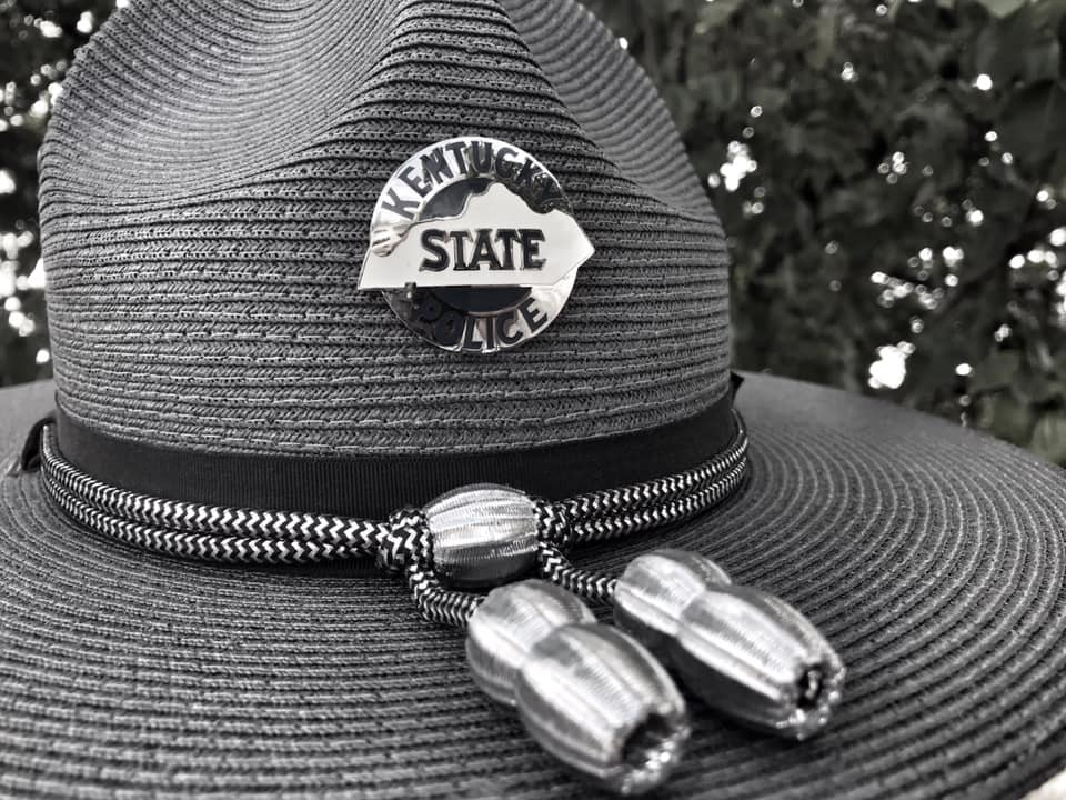 Kentucky State Police hat