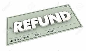 Refund - generic check image