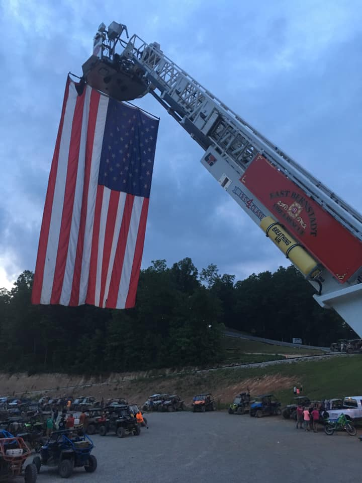 The department says they're hoping to raise enough money to replace their current memorial and special occasions flag.