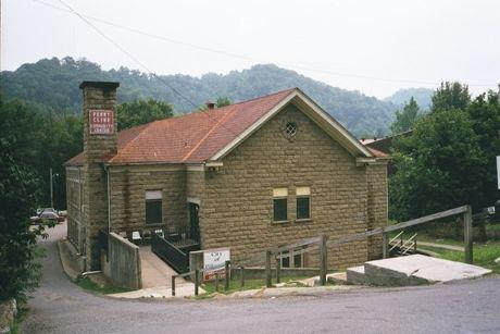 West Care Emergency Shelter in Pikeville (exterior) Serves as a warming station in cold weather