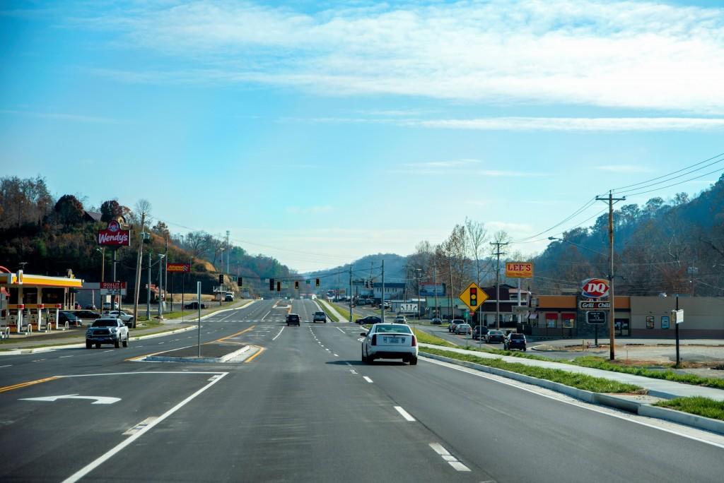 Mountain Parkway's Restaurant Row in Salyersville opens to traffic
