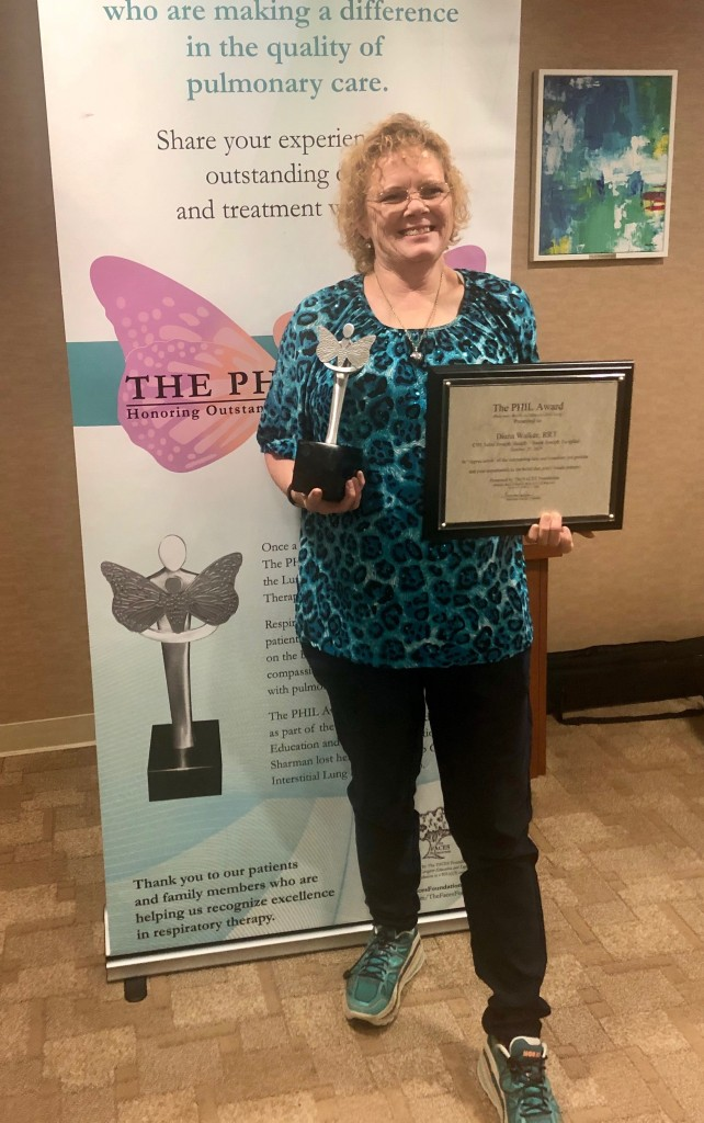 2019 PHIL Award dwalker