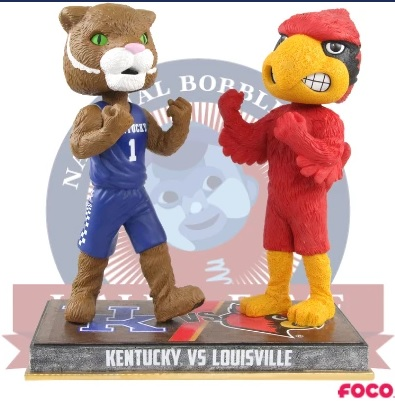 National Bobblehead Hall of Fame and Museum unveils UK UofL rivalry bobbleheads