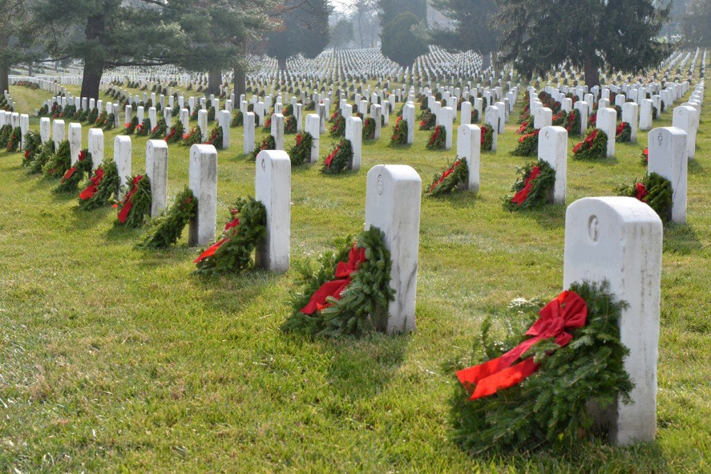 Wreaths Across America at Camp Nelson National Cemetery in Jessamine County