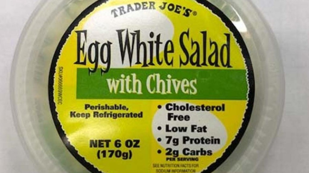 Trader Joe's egg salad and old-fashioned potato salad voluntarily recalled due to Listeria contamination concerns 12-23-19