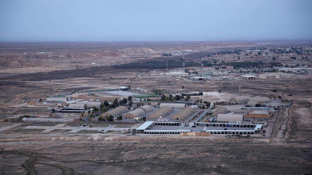 Ain al-Asad air base in the western Anbar desert