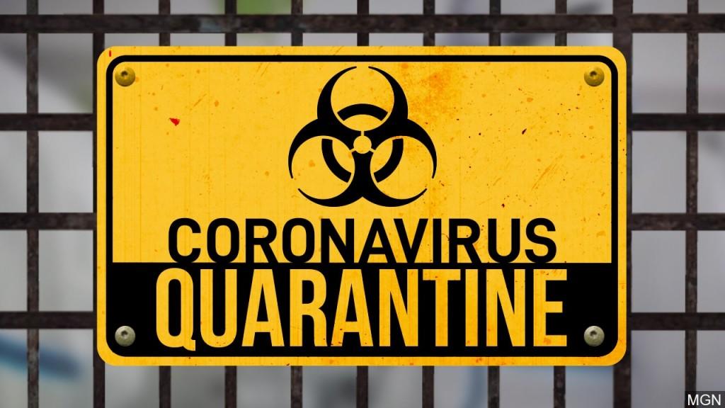 Coronavirus Quarantine graphic