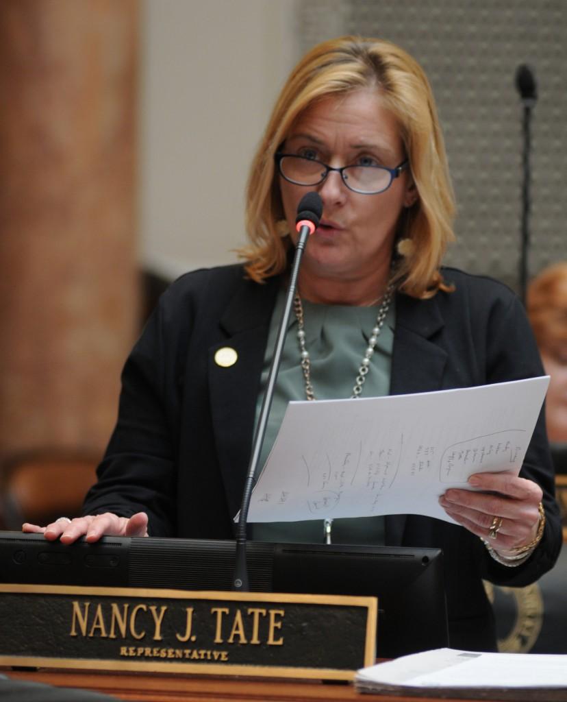 Kentucky Representative Nancy Tate on the House floor 3-2-20