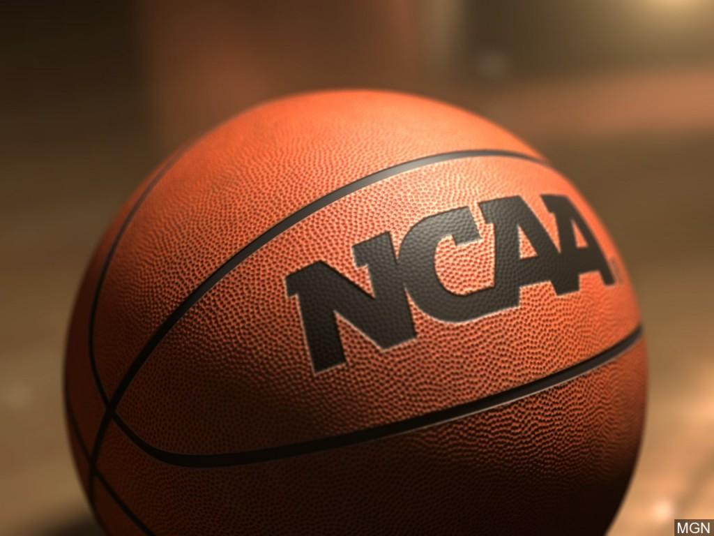 NCAA branded college basketball