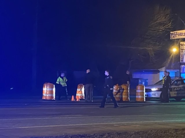 Female pedestrian hit by car in hit-and-run accident on Georgetown Street at Lima Drive in Lexington 3-2-20