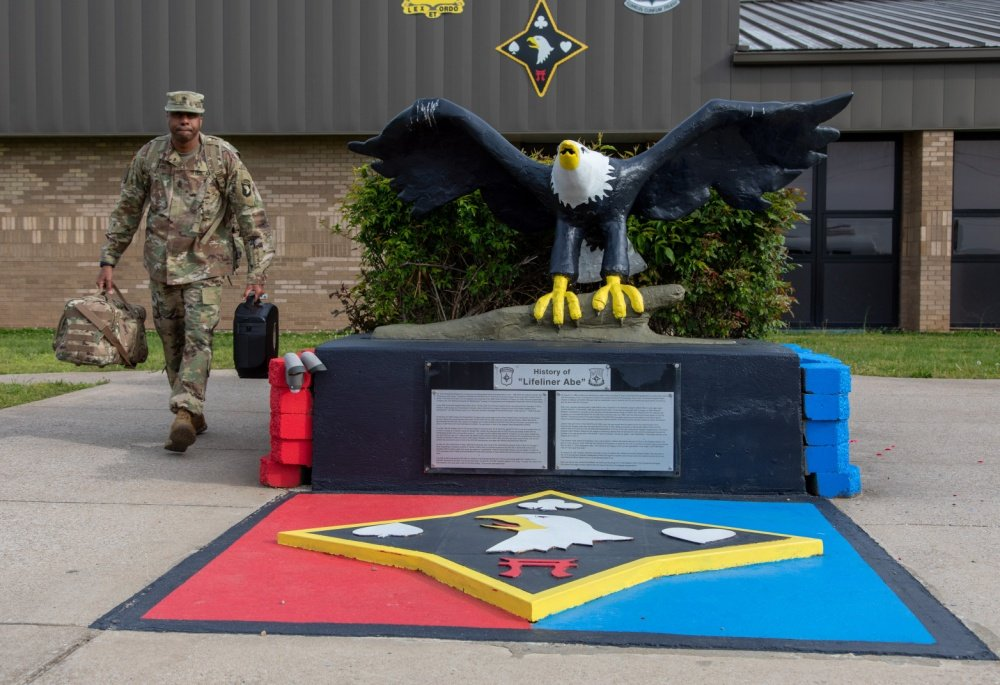 101st Airborne logistics experts deploy from Fort Campbell to the northeast to fight COVID-19 on 4-22-20