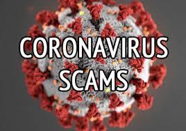 Coronavirus Scams graphic