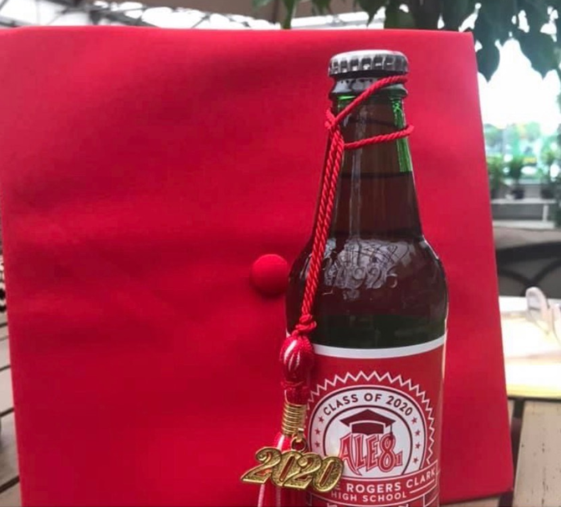 Ale-8-One pays tribute to the 2020 Class of George Rogers Clark High School in Winchester with a limited edition label