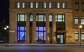 21c Museum Hotal in downtown Lexington (exterior)