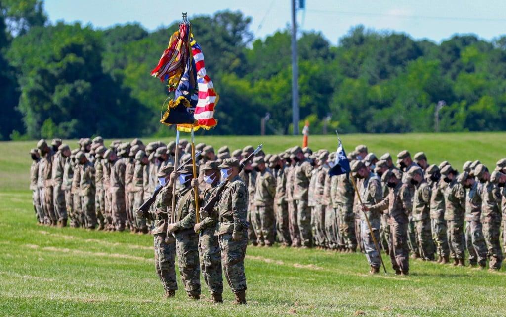 101st airborne division soldiers return