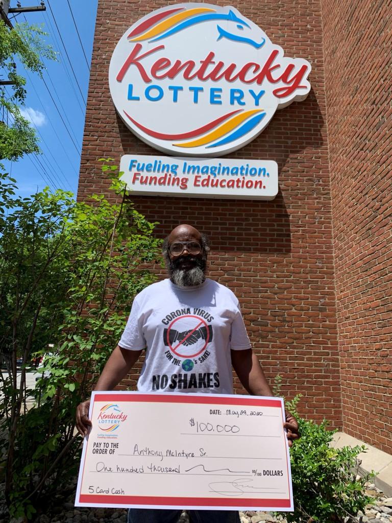 Anthony McIntyre Sr. wins $100
