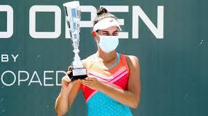 Jennifer Brady wins the Top Seed Open tennis tournament in Nicholasville