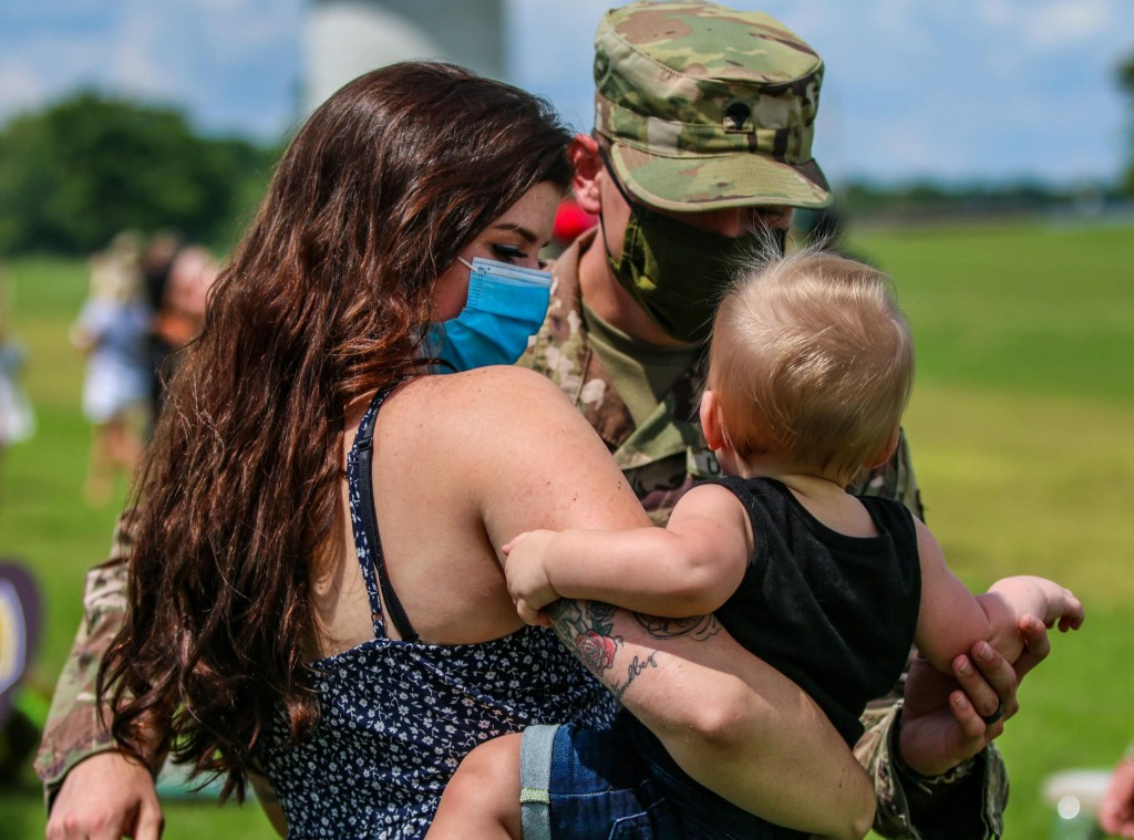 The 101st Airborne Division (Air Assault) welcomed home on 8-18-20 from a three month deployment to Africa.