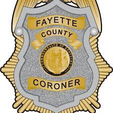 Fayette County coroner badge