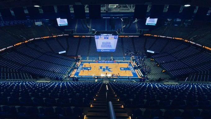 Rupp Arena (inside-empty)