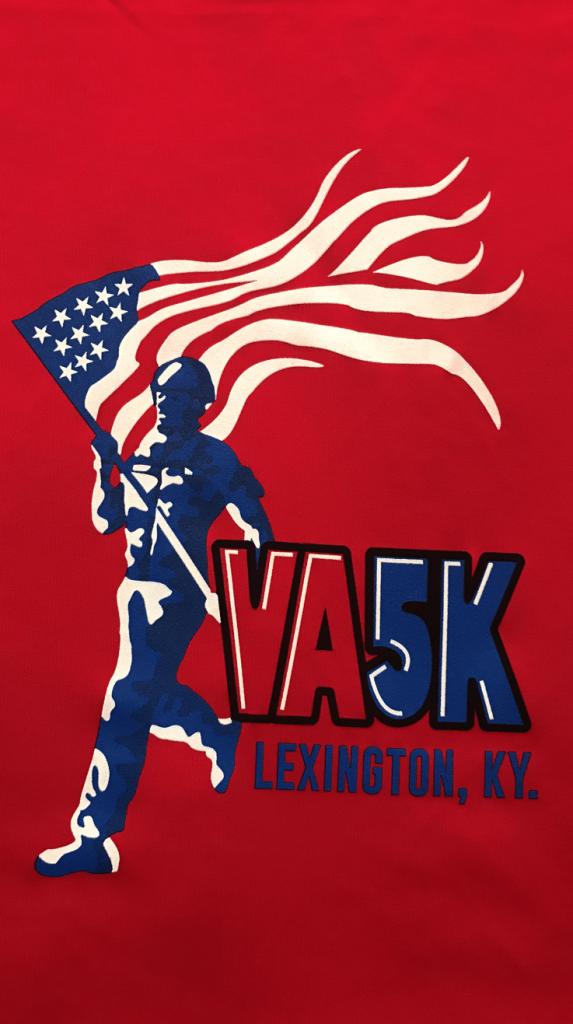 Virtual VA 5K logo 2020 for annual fundraiser for the Lexington VA Health Care System and Friends of Lexington Fisher House