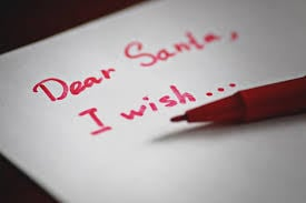 Dear Santa letter graphic (generic)