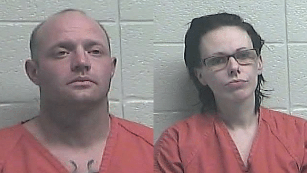 Clay Phillips and Tawna Miller of Jessamine County  are accused of dumping the body of a man who spent the night at their house in their garbage can after taking off his clothes.  They say he was an acquaintance who stayed the night and was dead when they woke up the next morning. 1-26-21