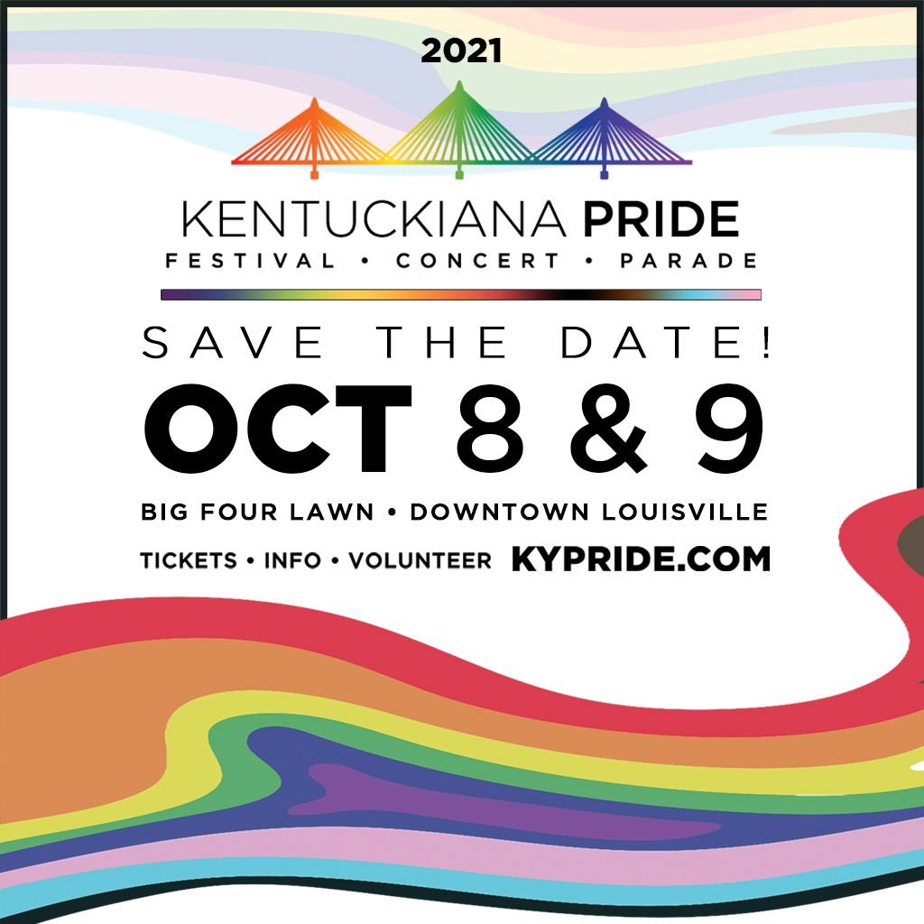 2021 Kentuckiana Pride Festival and Parade logo