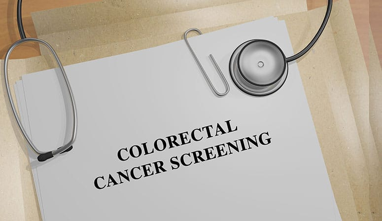 Colorectal Cancer Screening (generic graphic)
