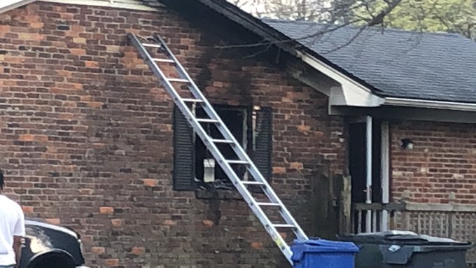 Home catches fire in the 600 block of Cricklewood Drive in Lexington 4-7-21
