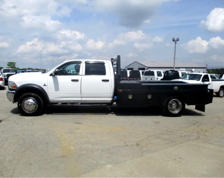 2011 Dodge 4500 truck stolen from Stiger's Truck Sales on US 127 in Frankfort on 4-7-21