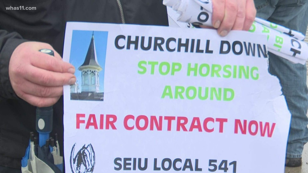 Union valets threatening strike over wage increase at Churchill Downs leading up to Kentucky Derby 2021