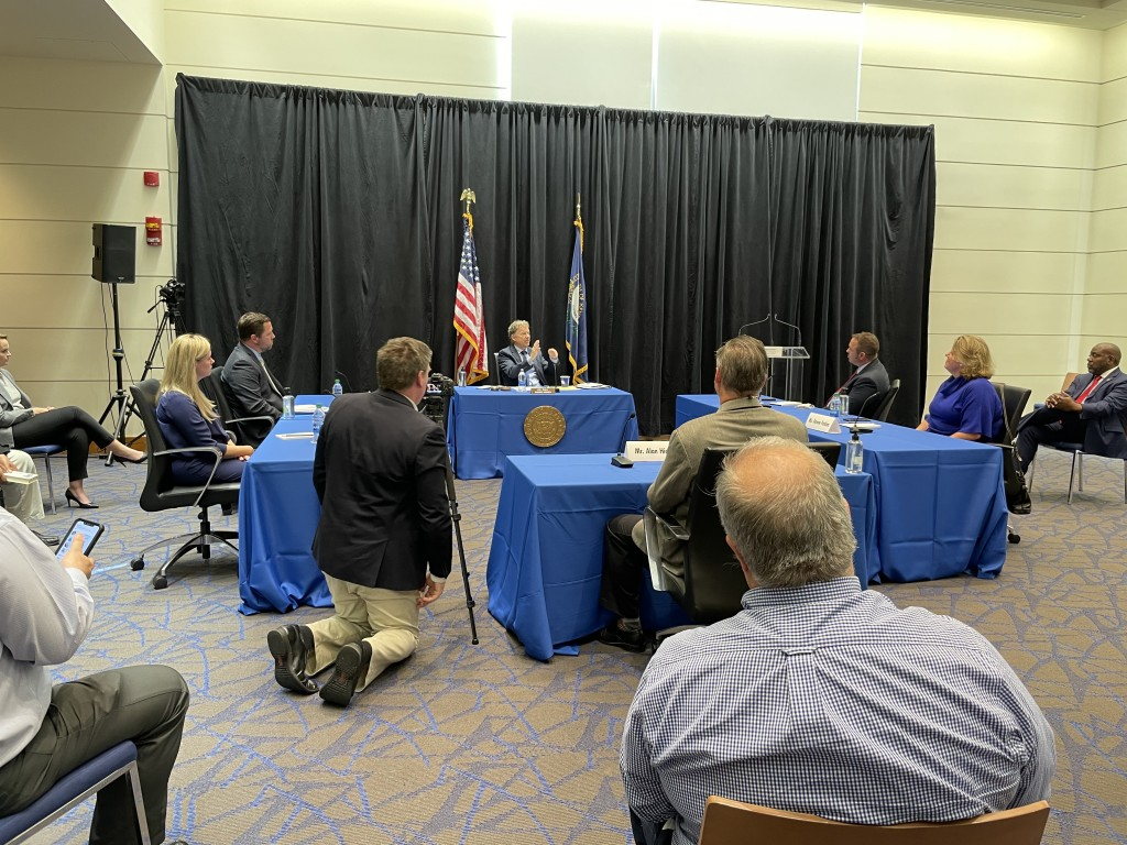During a discussion at the University of Kentucky Thursday