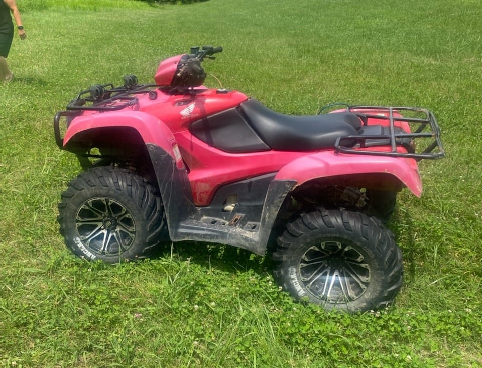 Stolen ATV in Knox County 7-13-21.  Recovered and returned to owner...two juvenile boys charged with theft