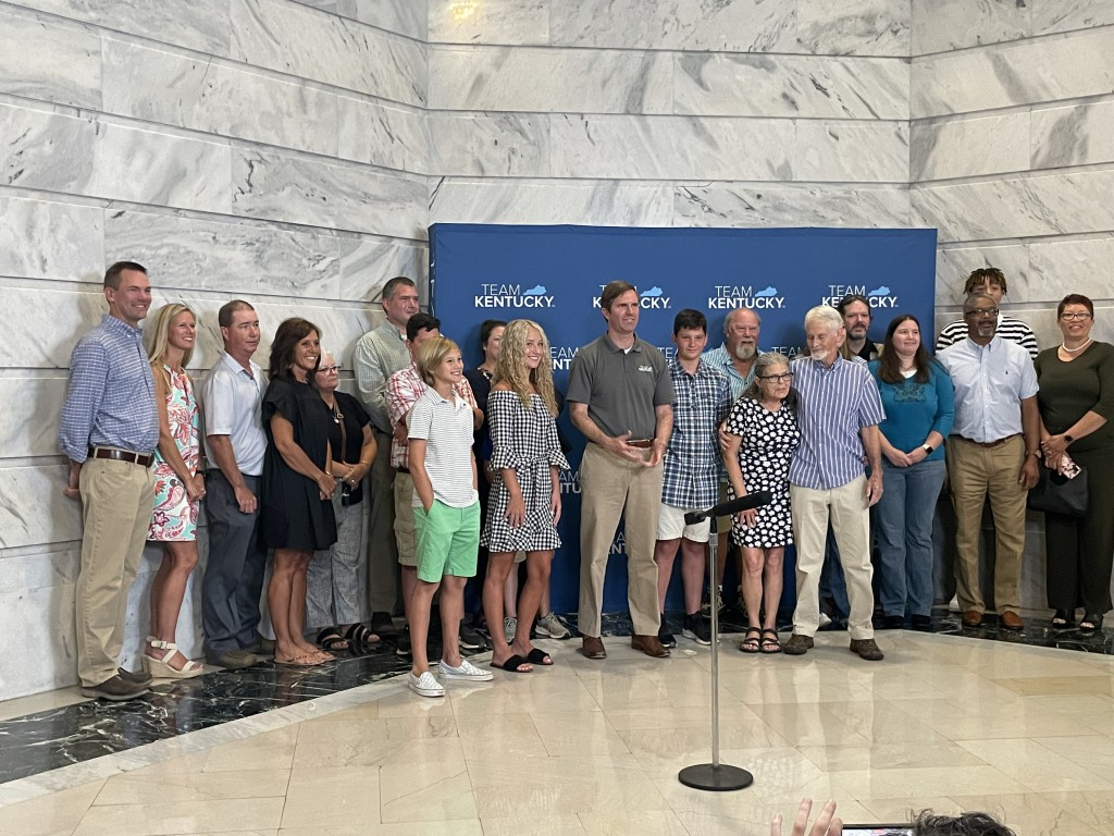 The first-round winners of Kentucky's vaccine lottery.