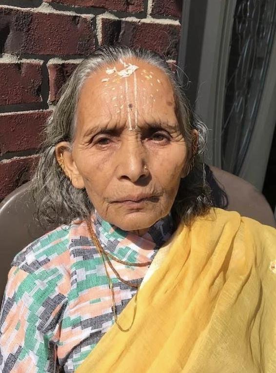 Lila Subedi 'Golden Alert' in Lexington on 9-29-21.  She has dementia.  She's 77-years old.