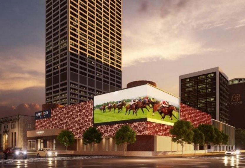 The new entertainment venue will initially include 500 HRM machines