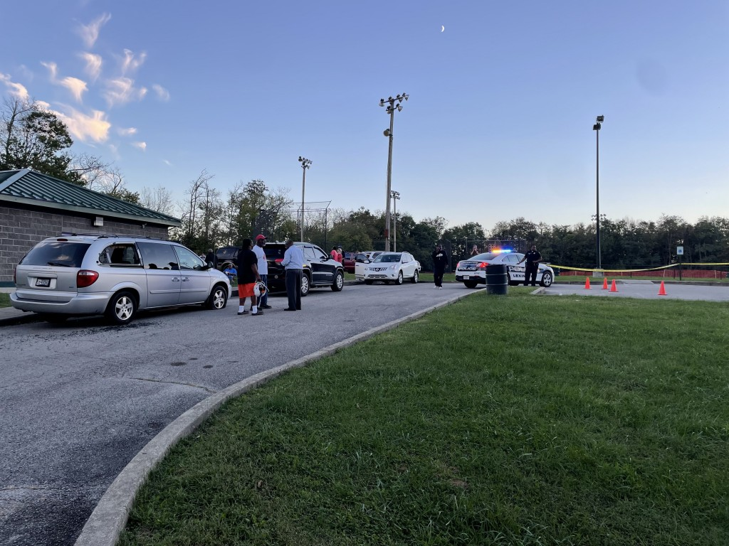 Shots fired in M.L. King Park on McCullough Drive in Lexington on 10-11-21.  Shooting started on Gerald Drive