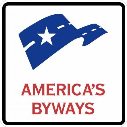 National Scenic Byways Sign D6 4