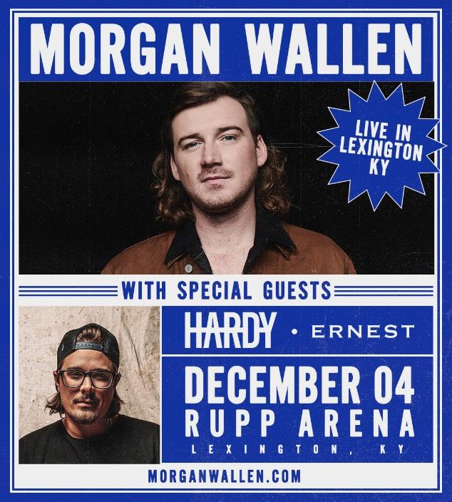 Morgan Wallen Rupp Arena