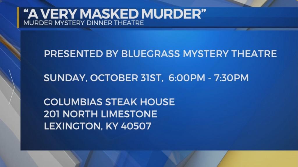 Bluegrass Mystery Theatre: A Very Masked Murder With Dana Edison Blackburn