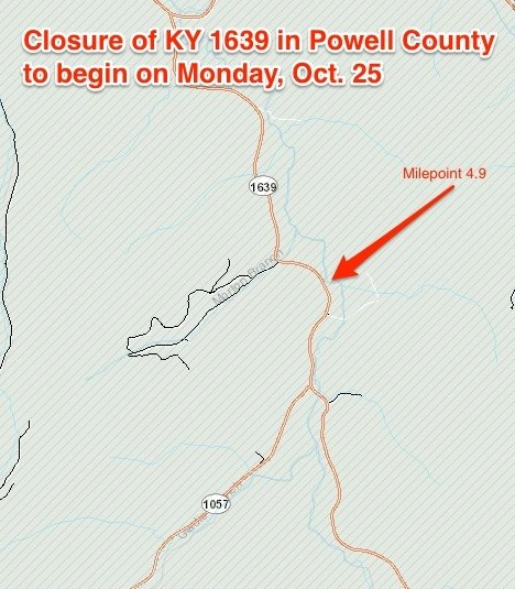 Ky 1639 Powell County Closure Original