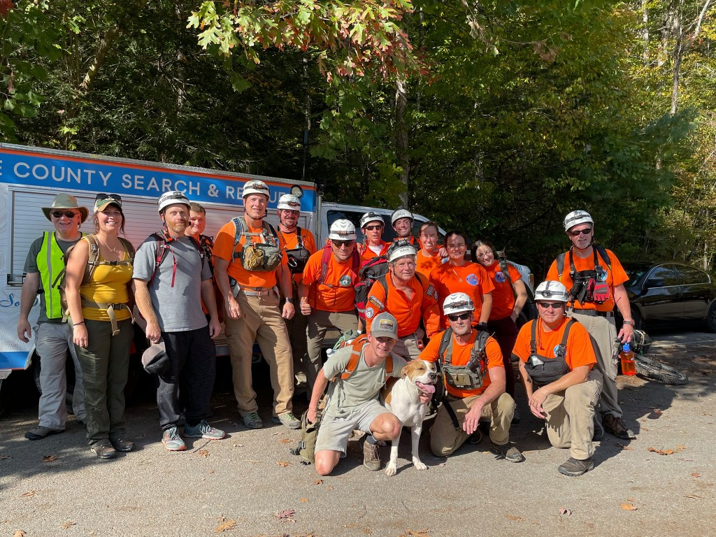 Wolfe County Search And Rescue Dog Cliff Fall 10 24 21