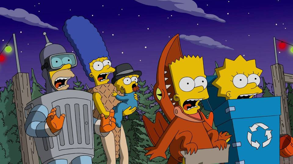 THE SIMPSONS: In the midst of a major drought