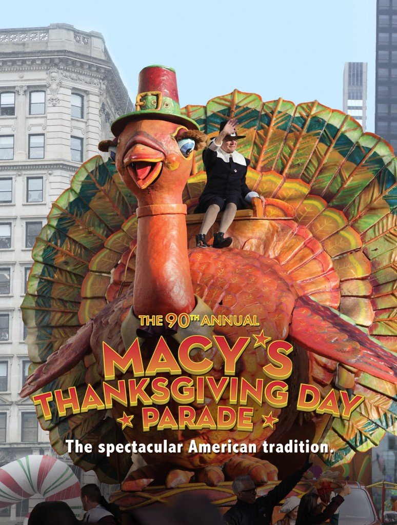 """MACY'S THANKSGIVING DAY PARADE 90TH ANNIVERSARY -- Pictured: """"Macy's Thanksgiving Day Parade 90th Anniversary"""" Key Art -- (Photo by: NBCUniversal)"""