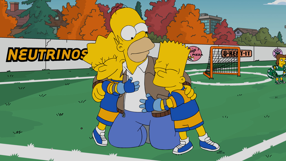 """THE SIMPSONS:  Homer gets roped into coaching the kids' lacrosse team in the all-new """"There Will Be Buds"""" episode of THE SIMPSONS airing Sunday"""