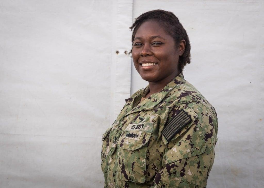 Petty Officer Second Class Raven McQueen