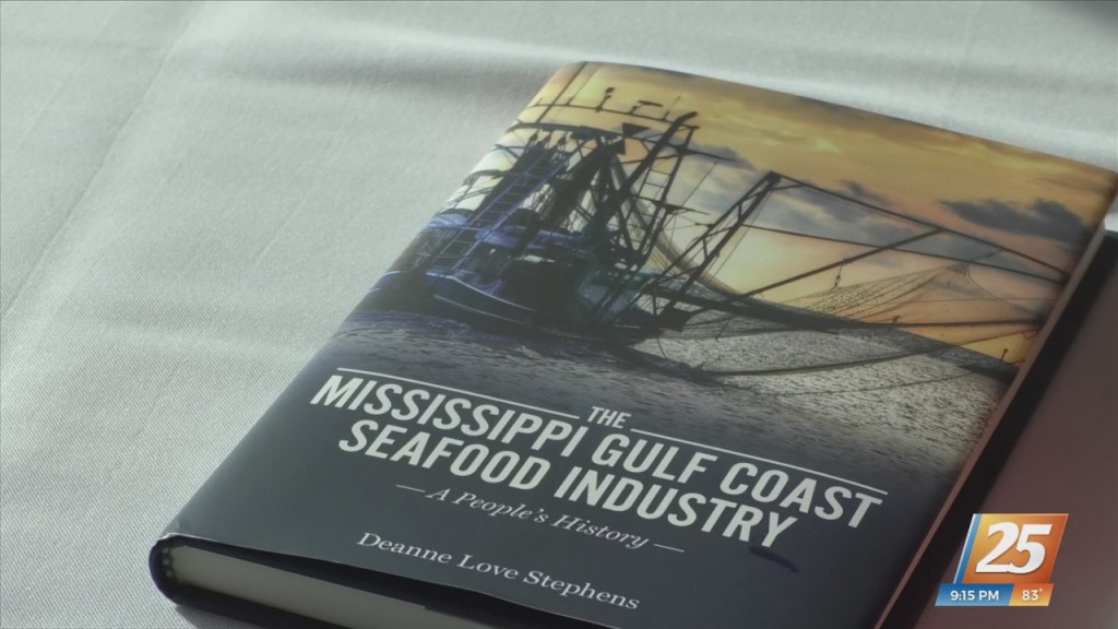 Seafood Industry Is The Focus Of Usm Professor's New Book